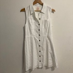 Quiksilver / Cover-Up Beach Dress White